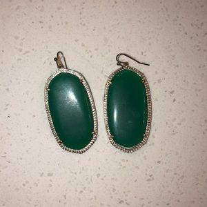 Kendra Scott Jewelry - Green Kendra Scott Danielle Earrings